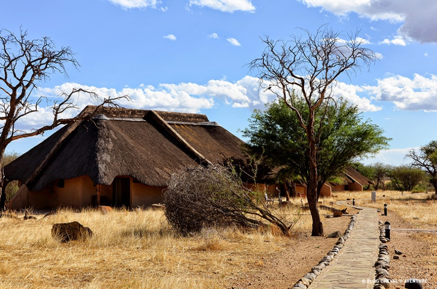 Lodge en Namibie @Blog Cheval d'Aventure